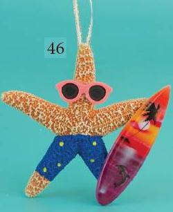 46starfish_Ornament_Beach-surfboard-SD.JPG (11819 bytes)